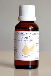 Afbeelding van Van der Pluym Voet massage olie 30 ml.